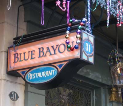 Photo illustrating <font size=1>Disneyland - Blue Bayou Restaurant in New Orleans Square