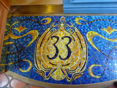 Photo illustrating <font size=1>Disneyland Park - Club 33