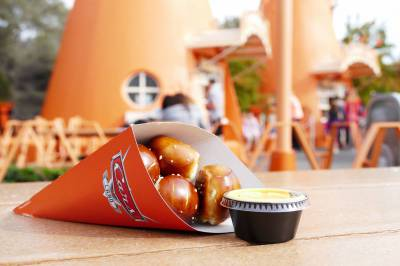 Photo illustrating Pretzel Bits at Cozy Cone - Cars Land