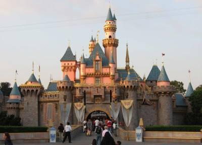 Photo illustrating <font size=1>Disneyland - Sleeping Beauty