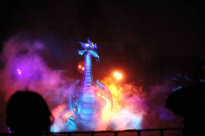 Photo illustrating <font size=1>Fantasmic Dragon