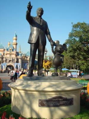Disneyland - Partners statue photo