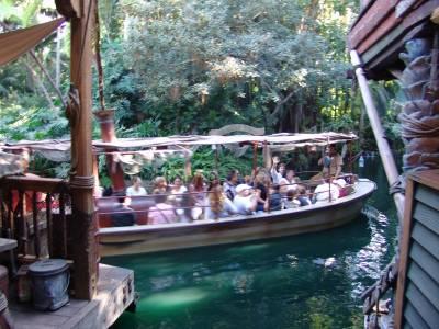Photo illustrating <font size=1>Disneyland - Jungle Cruise