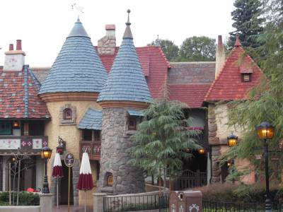 Photo illustrating <font size=1>Disneyland Park - Fantasyland