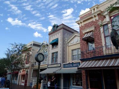 Photo illustrating <font size=1>Disneyland Park - Main Street