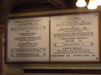 Jolly Holiday Bakery Cafe Menu photo