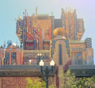 Photo illustrating <font size=1>Disney California Adventure Mission Breakout