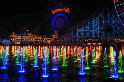 Photo illustrating World of Color