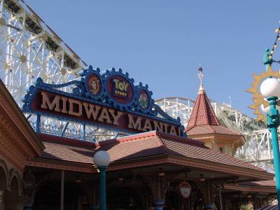 Photo illustrating <font size=1>California Adventure - Paradise Pier