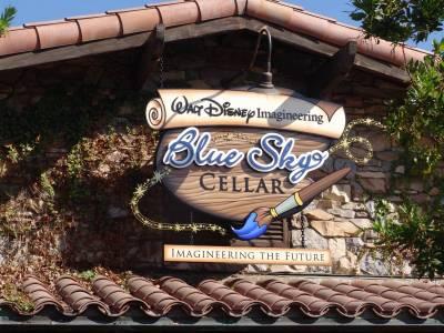 Photo illustrating <font size=1>California Adventure - Blue Sky Cellar
