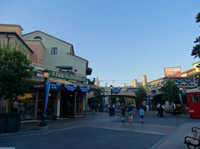 Photo illustrating California Adventure - early morning