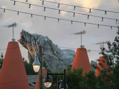 Photo illustrating <font size=1>California Adventure - Grizzly Peak and the Cozy Cones