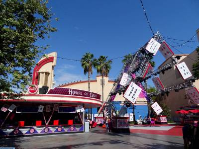Photo illustrating <font size=1>California Adventure - Hollywood Boulevard