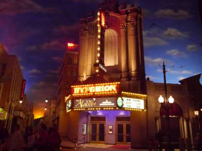 Photo illustrating California Adventure - Hyperion Theater
