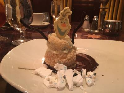 Photo illustrating Frozen Dining Package, Dessert