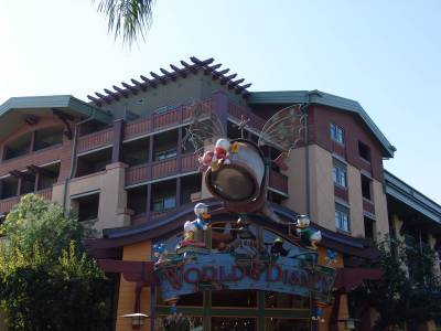 Photo illustrating <font size=1>Downtown Disney - World of Disney