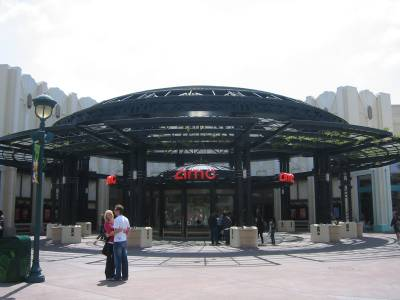 Photo illustrating AMC Theaters - Downtown Disney