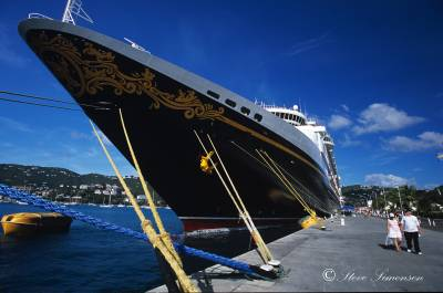 Photo illustrating Disney Magic Ship - St Thomas