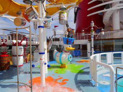 Aqua Lab Disney Magic Passporter Photos
