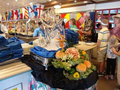 Disney Magic - Topsider's buffet photo