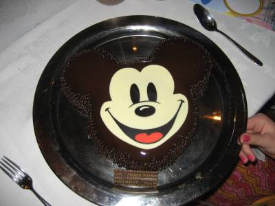 Photo illustrating <font size=1>Mickey Birthday cake on the Magic