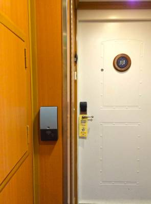 Photo illustrating Accessible Stateroom Door Opener (Cat 6A)