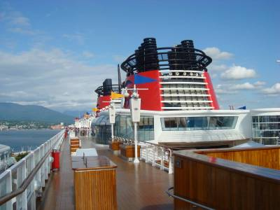 Photo illustrating Disney Wonder - deck 10