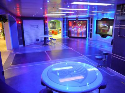 Photo illustrating Oceaneer Club on the Reimagined Disney Wonder