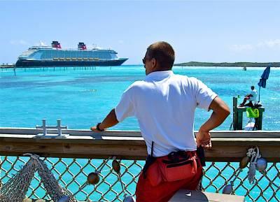 Photo illustrating <font size=1>Castaway Cay Lifeguards