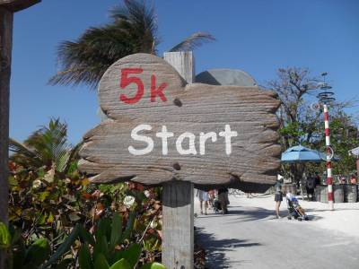 Photo illustrating Castaway Cay 5K