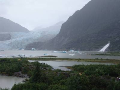 Alaskan cruise - Mendenhall Glacier photo