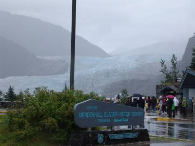 Juneau - Mendenhall Glacier Visitor Center