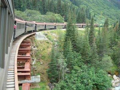 Photo illustrating Skagway - White Pass and Yukon Route