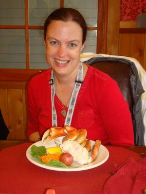 Ketchikan - crab feast photo