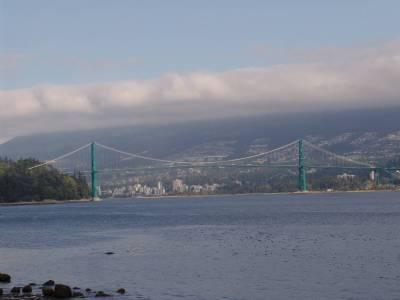Vancouver - Lions Gate Bridge photo