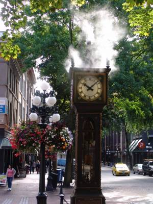 Vancouver - Gastown steam clock photo
