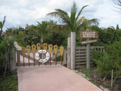 Entrance to Private Cabanas photo
