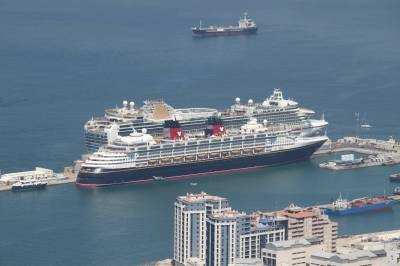 Disney Magic in Gibraltar