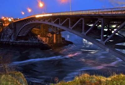 Reversing Falls Bridge In Saint John Nb Passporter Photos