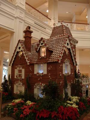 Grand Floridian - Gingerbread House photo