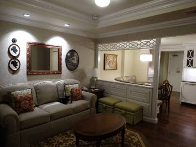 Photo illustrating Grand Floridian Villas - one bedroom villa