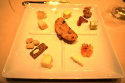 Victoria &amp; Alberts:  cheese course 2