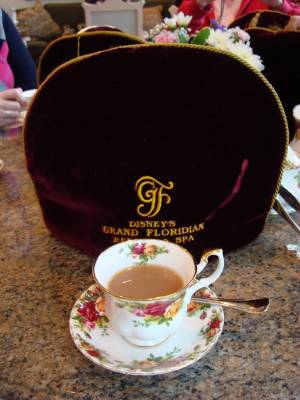 Grand Floridian - afternoon tea photo