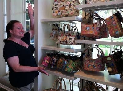 Photo illustrating Dooney & Bourke Bags at the Grand Floridian