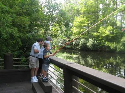 Port Orleans Riverside - Fishing