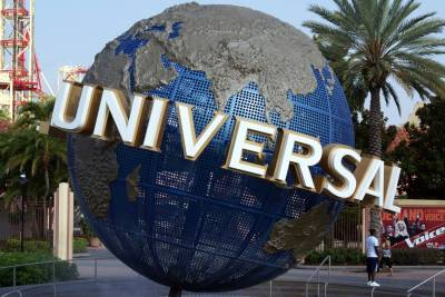 Photo illustrating <font size=1>Attractions at Universal Studios