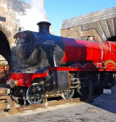 Islands of Adventure - Hogwarts Express photo