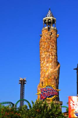 Islands Of Adventure Entrance Tower Passporter Photos