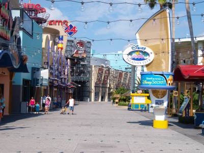 Photo illustrating <font size=1>Downtown Disney West Side