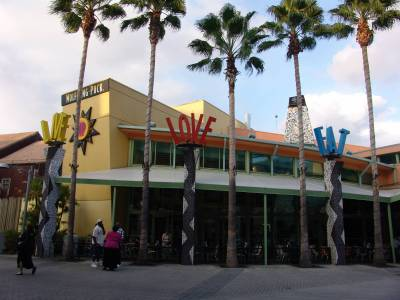 Photo illustrating <font size=1>Downtown Disney - Wolfgang Puck Cafe and Restaurant